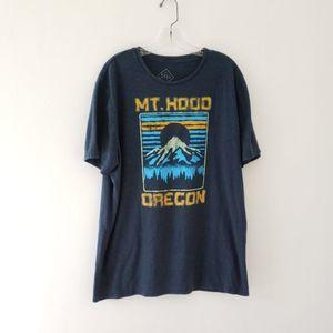 Mt. Hood Oregon retro graphic tee XL Well Worn